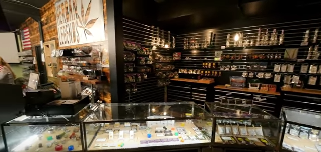 Inside a Seattle dispensary
